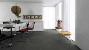 Laminaat betontegel donker grijs