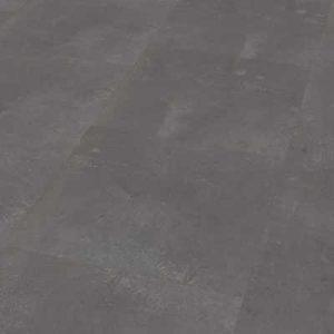 PVC tegellook kliklaminaat beton donker grijs